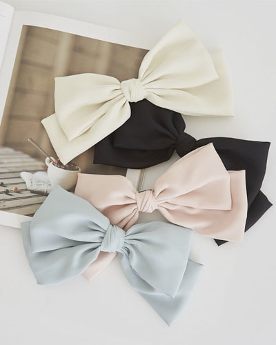 AC0005/Lovely Big Ribbon Hairpin_4c