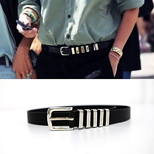 BT0625/Silver Mix Metal Belt