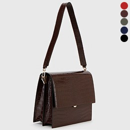 BAG0316/Chic Dorothy Crocodile Square Bag
